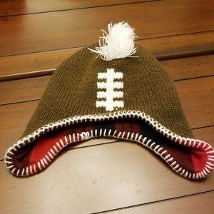 Kid's brown Mohawk hat
